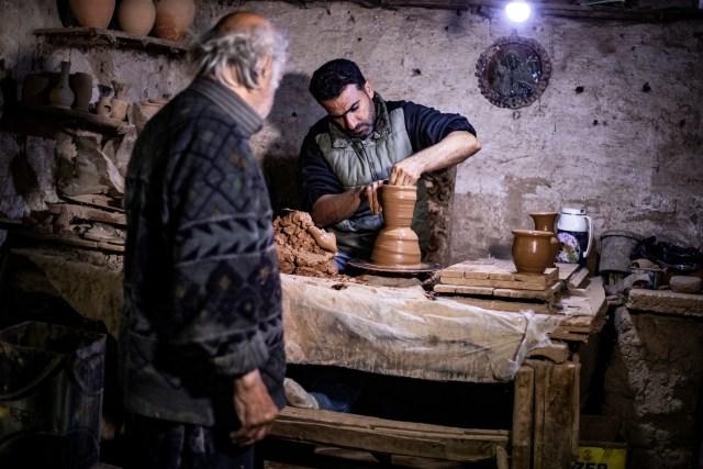 Foto: Melihat Pembuat Tembikar yang Sudah Turun-temurun di Suriah (90420)