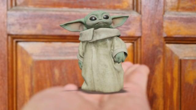 Cara Tampilkan Animasi Baby Yoda 3D, Karakter The Mandalorian di Google Search (137674)