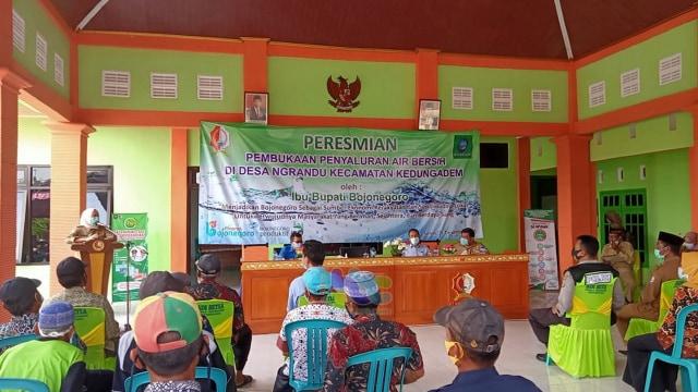 Bupati: Pemkab Bojonegoro Berkomitmen Terhadap Ketersediaan Air Bersih Warga (22123)