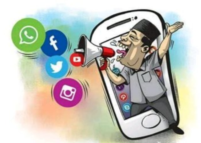 Kampanye melalui Sosial Media dalam Pandangan Komunikasi Politik (20327)
