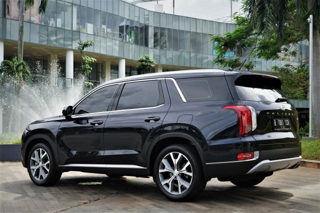 Foto: Mengintip Tampilan SUV Premium Hyundai Palisade (546803)