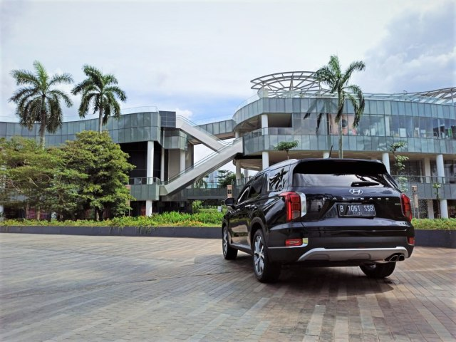 Foto: Mengintip Tampilan SUV Premium Hyundai Palisade (546801)