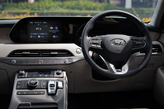 Foto: Mengintip Tampilan SUV Premium Hyundai Palisade (546816)