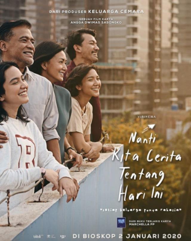 Sinopsis Film Nanti Kita Cerita Tentang Hari Ini Tayang Di Movievaganza Trans 7 Kumparan Com