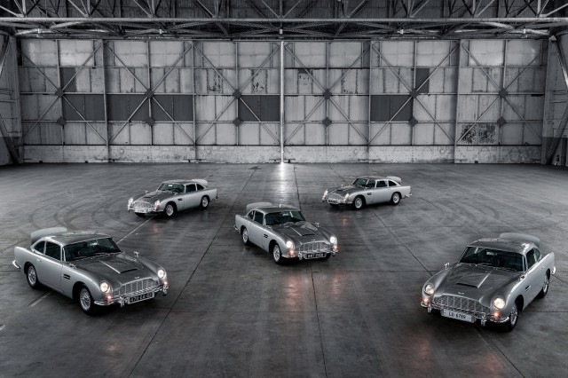 Aston Martin Produksi Lagi Mobil James Bond, Ada Fitur Senjata dan Penyemprot (50108)