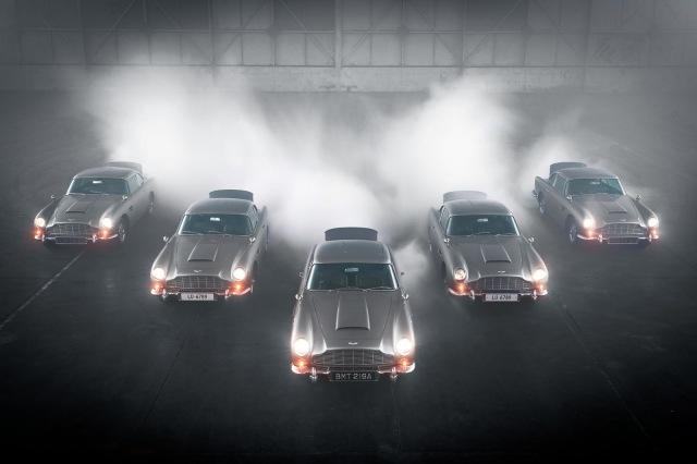 Aston Martin Produksi Lagi Mobil James Bond, Ada Fitur Senjata dan Penyemprot (50107)