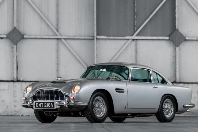 Aston Martin Produksi Lagi Mobil James Bond, Ada Fitur Senjata dan Penyemprot (50105)