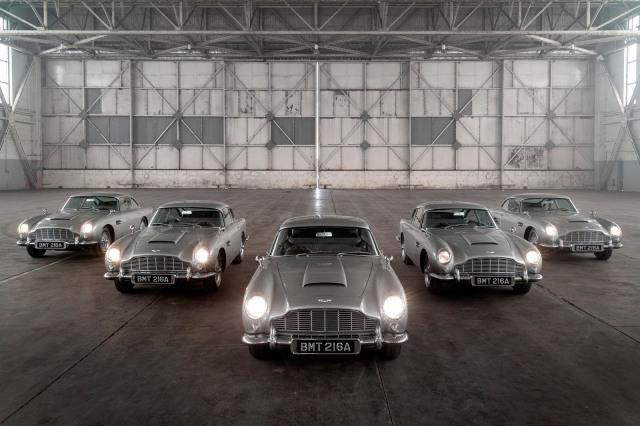 Aston Martin Produksi Lagi Mobil James Bond, Ada Fitur Senjata dan Penyemprot (50110)