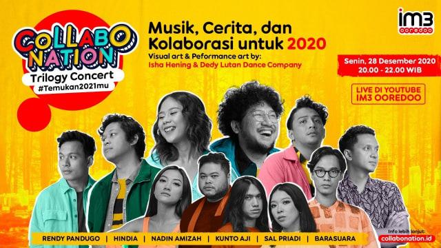 Collabonation Trilogy Concert #Temukan2021mu, Bercerita Tentang Tahun 2020 (61871)