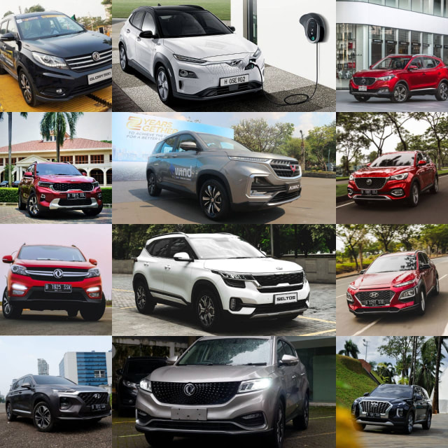 12 Pilihan Mobil SUV Asal China dan Korea Selatan, Harga Menggiurkan (21604)