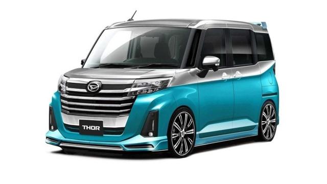Modifikasi Unik 5 Mobil Daihatsu untuk Tokyo Auto Salon 2021, Ada Taft Reborn!  (116077)