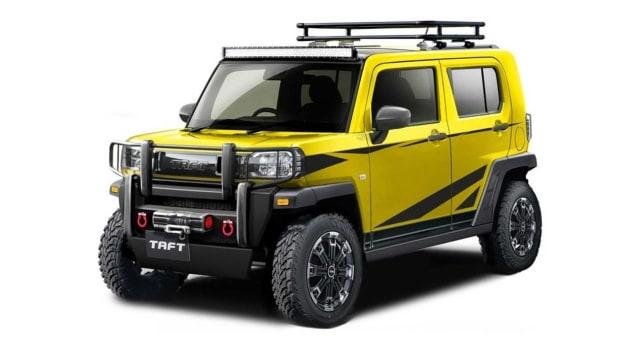 Modifikasi Unik 5 Mobil Daihatsu untuk Tokyo Auto Salon 2021, Ada Taft Reborn!  (116075)