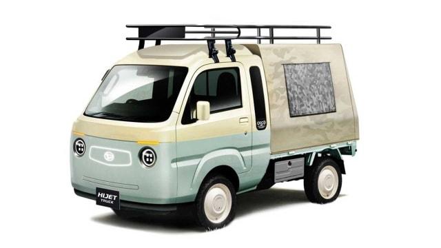 Modifikasi Unik 5 Mobil Daihatsu untuk Tokyo Auto Salon 2021, Ada Taft Reborn!  (116072)