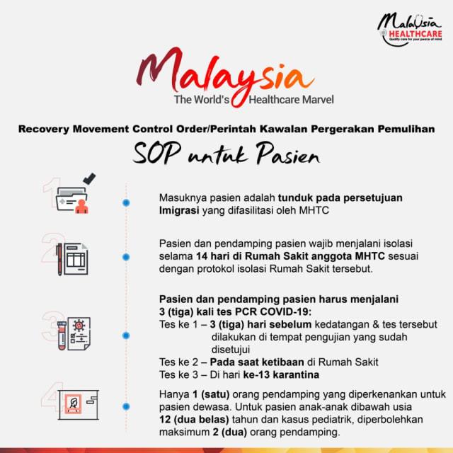 Berobat ke Malaysia saat Pandemi? Ini yang Harus Anda Siapkan!  (119810)