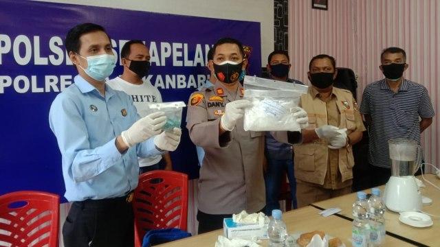 Kurir Sabu di Pekanbaru Pesan Narkoba dari Napi Penghuni Lapas   (255100)