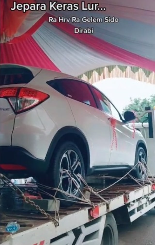 Gak Jadi Nikah Kalau Mahar Bukan Mobil, Video Seserahan Pernikahan Ini Viral (25973)