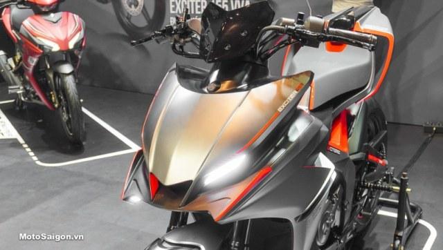 Yamaha F155, Prototipe All New MX-King di Vietnam, Tampil Lebih Gahar (302135)