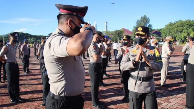 1.735 Polisi Aceh Naik Pangkat  (18992)