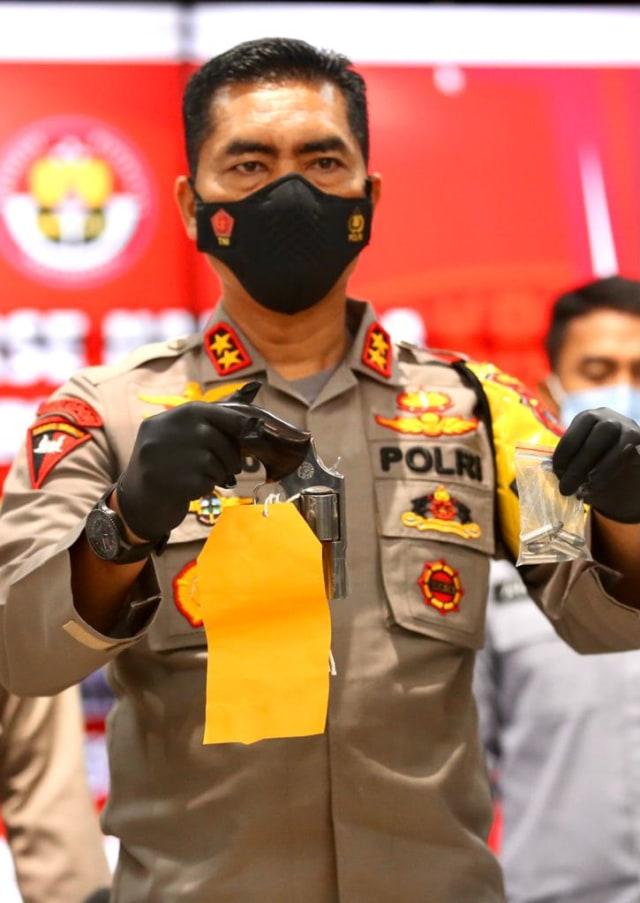 Foto: Ungkap Narkoba Jaringan Internasional, Polda Aceh Sita 61 Kg Sabu-1 Pistol (120290)