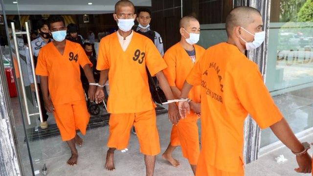 Foto: Ungkap Narkoba Jaringan Internasional, Polda Aceh Sita 61 Kg Sabu-1 Pistol (120291)