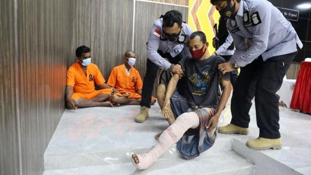 Foto: Ungkap Narkoba Jaringan Internasional, Polda Aceh Sita 61 Kg Sabu-1 Pistol (120295)