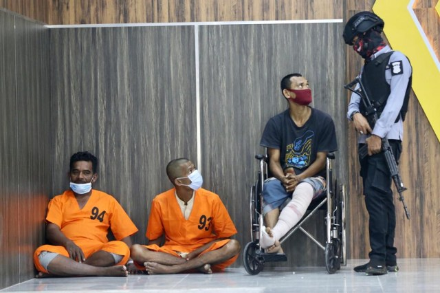 Foto: Ungkap Narkoba Jaringan Internasional, Polda Aceh Sita 61 Kg Sabu-1 Pistol (120297)