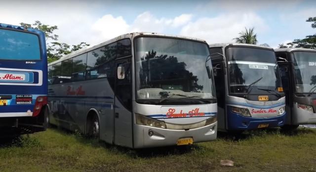 Bus Bekas PO Sumber Alam Mulai Rp 20 Jutaan, Setara Honda Vario Baru (47234)