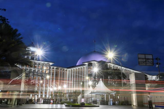 Gerhana Bulan Total, Masjid Istiqlal Akan Gelar Salat Khusuf (447936)