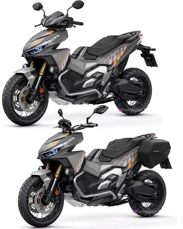 Modifikasi Honda Vario Jadi Kekar Mirip X-ADV, Tertarik Bikin? (39409)