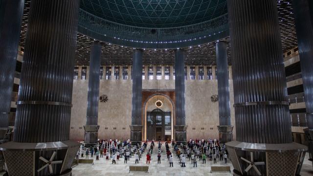 Masjid Istiqlal Tak Gelar Buka Puasa dan Sahur Bersama (242433)