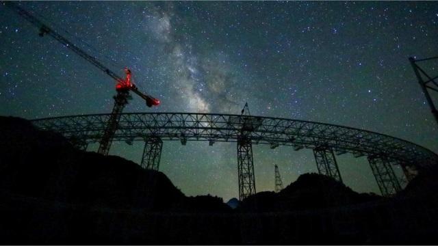 Teleskop Raksasa China Sangat Sensitif untuk Buru Alien (25704)
