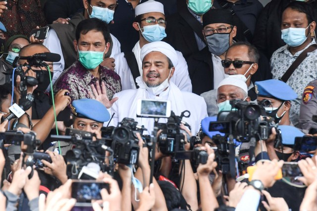 Praperadilan Habib Rizieq Jilid II Mulai Digelar Hari Ini di PN Jaksel (238940)