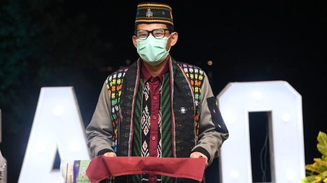 Rapat Perdana di DPR, Sandiaga Doakan Keluarga Penumpang Sriwijaya Air SJ 182 (20793)