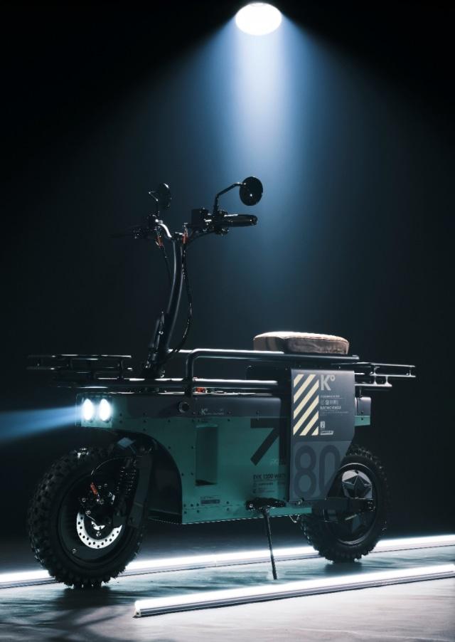 Spacebar, Motor Listrik yang Bisa Dilipat Garapan Katalis  (27774)