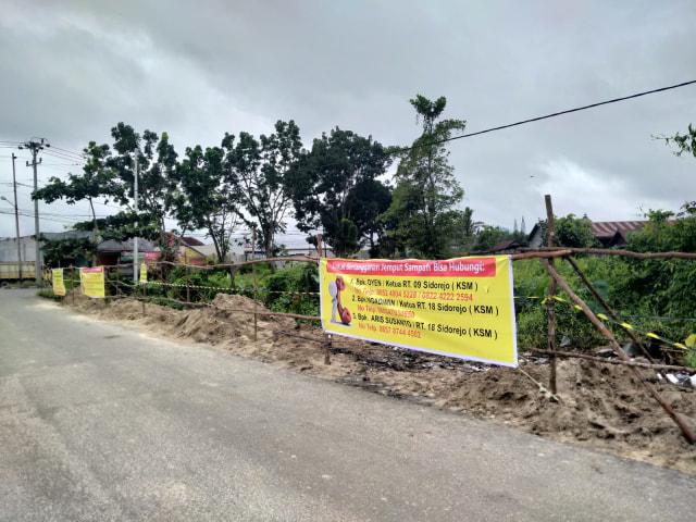 Lurah Sidorejo Turun Langsung Tertibkan TPS Liar (120140)
