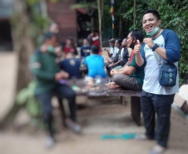 Sriwijaya SJ-182, Penerbangan Terakhir Rizki Wahyudi PEH TN Gunung Palung (860023)