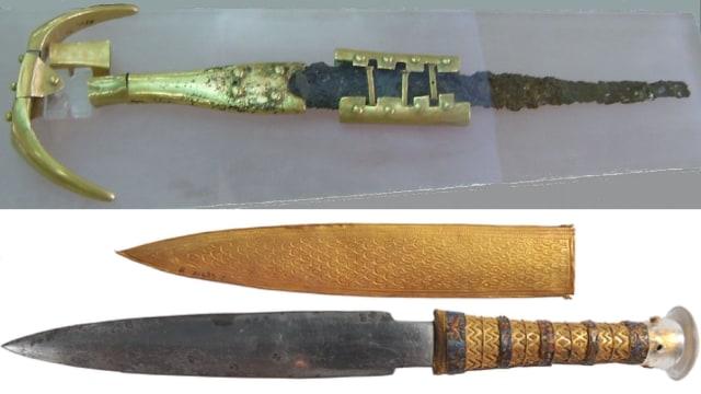 Para Leluhur Menciptakan Senjata dari Bahan Meteorit sejak Zaman Perunggu (14814)