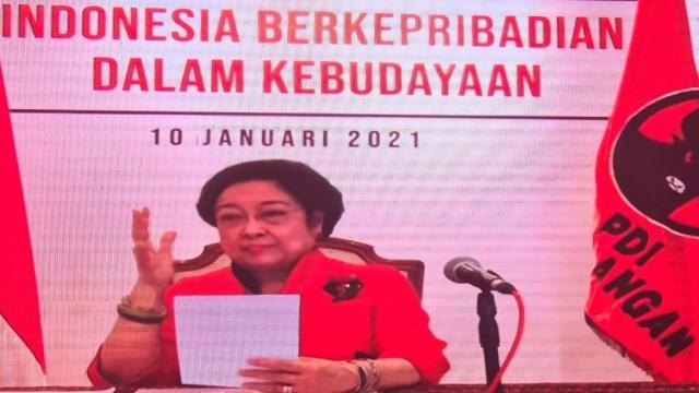 Megawati di HUT PDIP: COVID-19 Seakan Memperlihatkan Kebenaran Hukum Evolusi (37533)