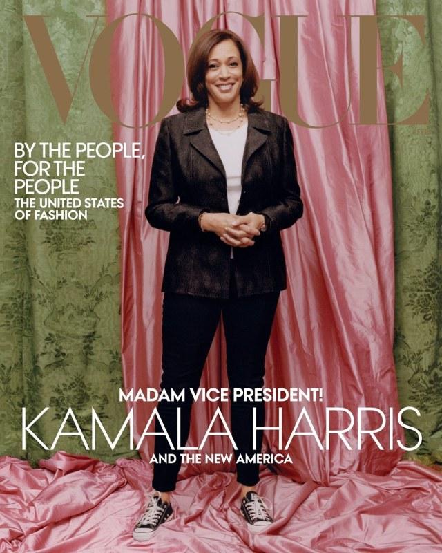 Anna Wintour Buka Suara soal Potret Kontroversial Kamala Harris di Sampul Vogue (127136)