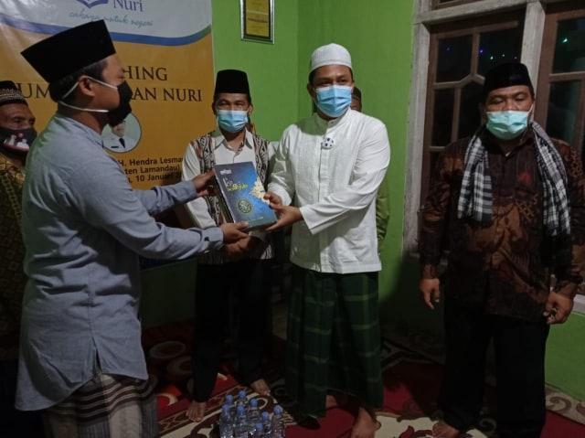 Bupati Lamandau Hendra Lesmana Meresmikan Rumah Quran Nuri (382638)
