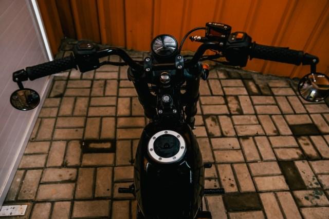 Modifikasi Motor Bebek 'Pengangkut Galon' Jadi Monkey Bobber, Segini Biayanya (25673)