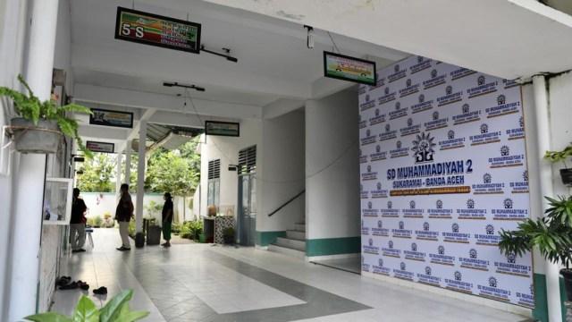 Foto Sekolah Yang Ditutup Karena Langgar Prokes Corona Di Banda Aceh Kumparan Com