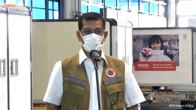 Doni Monardo: Vaksin Corona Datang, 3M Tetap Jalan karena Kasus Aktif Naik 122% (1)