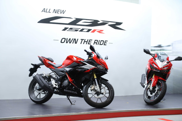Dapat Label 'All New', Apa Saja yang Berubah dari Honda CBR150R?   (29413)