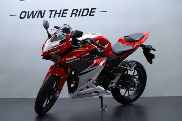 Foto: Honda CBR150R Terbaru, Tampangnya Mirip CBR250RR! (113140)