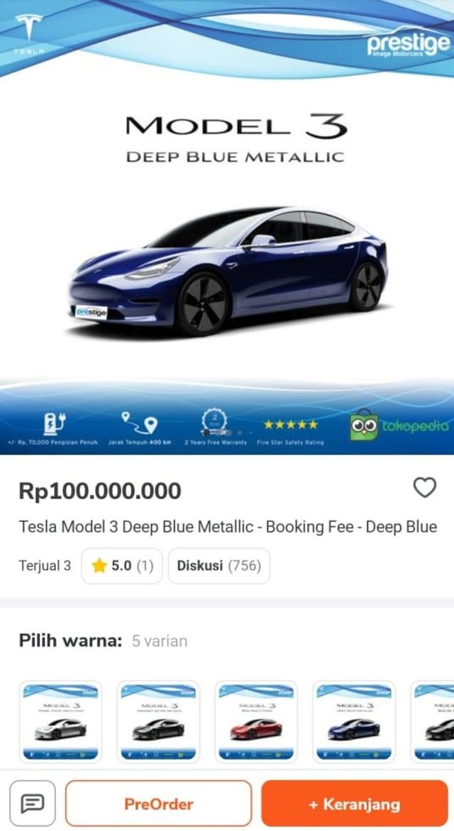 Enggak Bisa Tidur, Pengusaha Muda Ini Iseng Beli Tesla Jam 3 Pagi (239715)