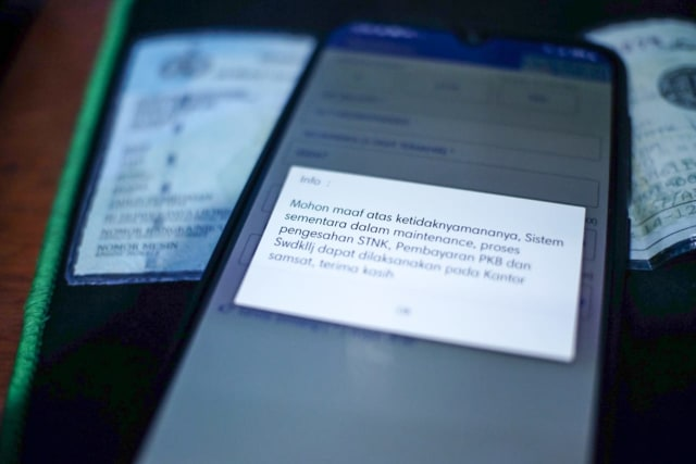 Aplikasi Bayar STNK Online Jakarta Ngadat Sejak September 2020 (334)