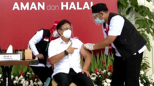 Fakta-fakta Jokowi Disuntik Vaksin dan Vaksinasi Corona Perdana di Indonesia  (121155)
