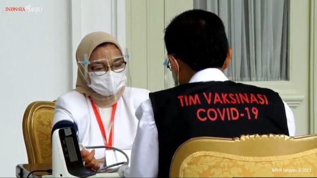 Fakta-fakta Jokowi Disuntik Vaksin dan Vaksinasi Corona Perdana di Indonesia  (121156)