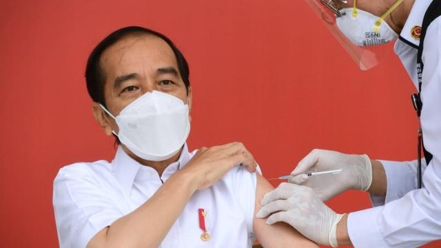 Fakta-fakta Jokowi Disuntik Vaksin dan Vaksinasi Corona Perdana di Indonesia  (121154)